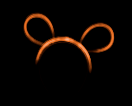 Bunny Ears (orange)