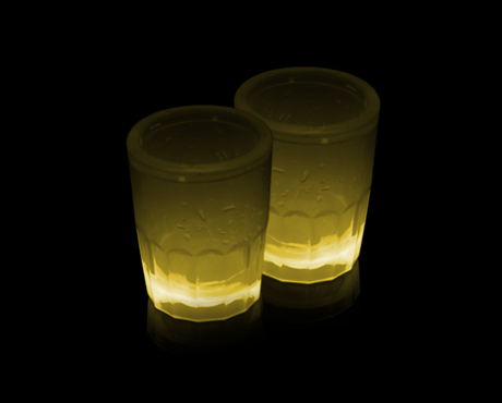 Shotsglas 2-pack (gul)